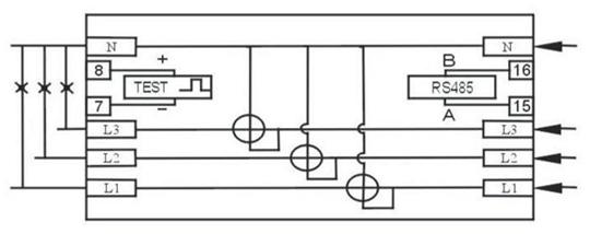 medidor de energ u00eda trif u00e1sico de carril din dt s s238